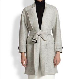 Burberry Heronsby Oversized Wool Coat